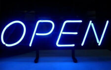 "Open Business Coffee Neon Sign 17""x14"" Pub Beer Light Decor Gift Christmas"