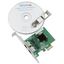 Winyao Broadcom BCM5720 Dual Port Gigabit PCI-e Ethernet NIC Network Card Lan