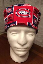 Montreal Canadians Habs Men's Surgical Scrub Hat - Skull Cap