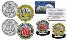 Father'S Day Armed Forces Military Jfk Half Dollar 2-Coin Set U.S. Army *New*