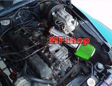 Black Green For LONG 1991-1995 Jeep Wrangler 2.5L 4.0L L4 I6 Air Intake + Filter