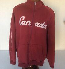 Salt Lake City 2002 Olympics Roots Team Canada Track Jacket Size 2XL