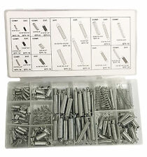 200pc Spring Assortment Set Compressed - Extended Carburetor Flat Hoop Assorted