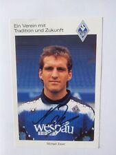 Michael Zeyer + 94/95 AUTOGRAMM + Waldhof Mannheim AK + 1994/95 AUTOGRAMMKARTE