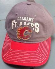 Calgary Flames, Hat, NHL Fan Gear, Adult,  Mens Adjustable fit , Reebok Faceoff