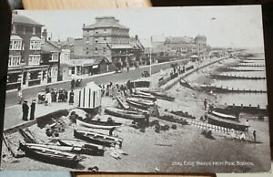 East Parade From Pier Bognor. No.2023 J.Salmon Sepio Series