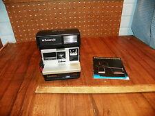 Vintage POLAROID SUN 600 LMS Camera w Manual