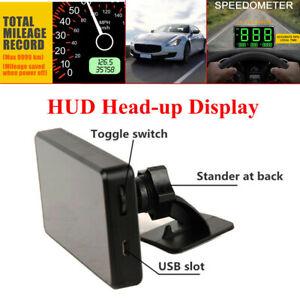 Automotive C80 Screen Driving Speed Digital GPS Speedometer HUD Head-up-Display