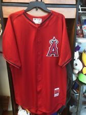 LOS ANGELES ANGELS OF ANAHEIM MIKE TROUT #27 SIZE 44 JERSEY