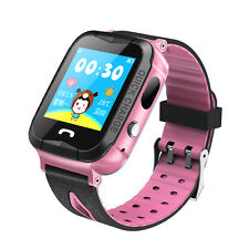 GPS Kids Baby Smart Watch for SOS Call Finder Locator Tracker Anti Lost Monitor