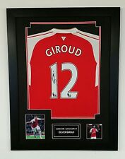 *** New Olivier Giroud Signed Shirt Autograph Display ***