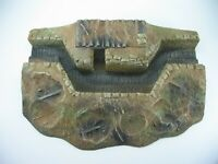 9604 WW I or WW II 54 mm Command Bunker and Trench Painted