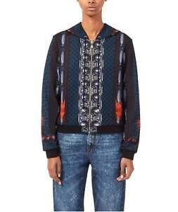 Genuine Versace Mens Felpa Con Cappuccio Zip Hoody Size XXL