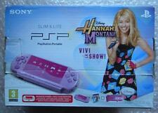 CONSOLE PORTABLE PSP SLIM & LITE SONY SERIE 3004 HANNA MONTANA VETRO SCHEGGIATO