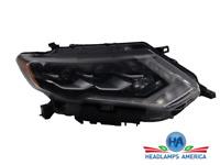 OEM Headlight - Nissan Rogue W/LED 17-18 Rh