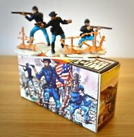 BRITAINS MINI SET 1151 Federal Infantry  **Mint In Box Vintage 60's COMPLETE**
