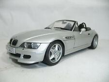 1999 BMW Z3 E36/7 M ROADSTE SILVER METALLIC 1:18 UT DEALER 80439422940 VERY RARE
