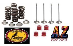 17-19 Kawasaki KX250F KX 250F Kibblewhite Intake & Exhaust Valves Seals Springs