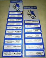 Away Teams S-Z Division 3 Football Programme Collections/Bulk Lots