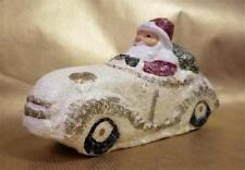"Teena Flanner 7"" Santa Driving Convertible Car Midwest Seasons Cannon Falls New"