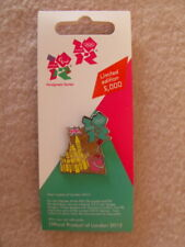 London 2012 Sandcastle + Bucket & Spade Beach Seaside Limited Edition Pin Badge