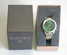 Electric Authentic Watch FW03 SS Green/Gold Watch NEW! 32362