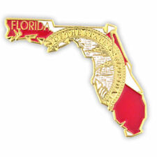 NEW Classy FL Lapel Tie Pin FLORIDA east leon marion milton orange orient park