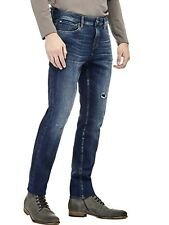 Guess Angels señores Skinny Jeans, azul, w32, 33,34 l34