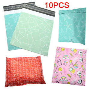 Waterproof Poly Mailers Envelopes Bag Bubble Bag Printed Anime Courier Bag