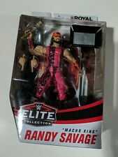 WWE Mattel Elite Royal Rumble Macho King Macho Man Randy Savage