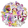 50Pcs Unicorn Waterproof Cartoon Stickers Skateboard Laptop Luggage Decals Decor