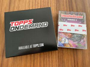 NEW Topps On-Demand 2021 Garbage Pail Kids KRASHERS 2 Base 21-Card Sticker SET