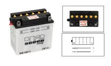 Batterie moto sèche 12V 8AH YB7-A YB7A   Suzuki GT 200/ E / GT 500