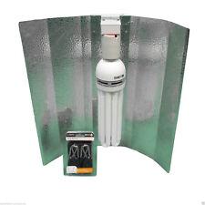 CFL REFLECTOR WITH CFL 250W BLUB (BLUE) AND HANGERS - HYDROPONICS