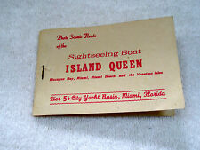 Vintage Photo Book Millionaire Homes From Tour Boat Island Queen