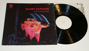 Black Sabbath - Paranoid UK 1st Vertigo White Label Test Press & Prototype Cover