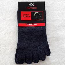 1 Paar Herren Zehensocken Hygienesocken mit einzelnen Zehen Jeans Melange 36-46