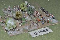 10mm 7YW / british - french indian wars battle group 70 figures - inf (27900)