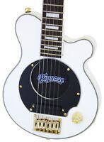 Pignose PGG-259 White Travel Electric Guitar Built-in Amp Speaker