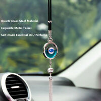 Original CAR Logo Essential Oil Air Freshener Rear View Mirror Perfume Pendant