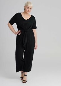 ts Taking Shape  Jumpsuit Size 20 Black Obsession style  NWT