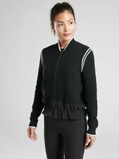 Athleta Venture Sweater, Black, Size M, NWT