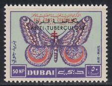 Dubai 1964 ** Mi.124 A Tuberkulose Tuberculosis Schmetterling Butterfly Medizin