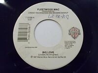 Fleetwood Mac Big Love / You And I Part I 45 1987 WB Vinyl Record