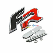 SEAT FR GRILL GRILLE FRONT METAL BADGE LEON IBIZA ALTEA CUPRA R EMBLEM BADGE RED