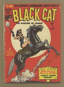 Black Cat Comics #12 GD/VG 3.0 1948