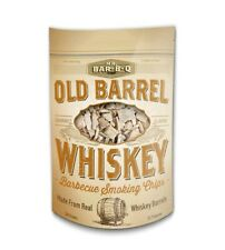 Old Barrel Whiskey Barbecue Smoking Chips Made in Spain from Oak Whiskey Barrels