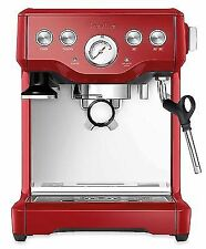 Breville BES840XL BES840CBXL Red Infuser Espresso Stainless Steel Coffee Machine