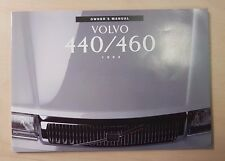 Volvo 440 460 1993 Owners Manual