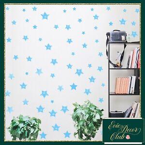 Blue Star Wall Stickers Decal Child Vinyl Art Decor Spots  Baby Nursery decor